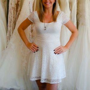 White Abercrombie & Fitch Dress